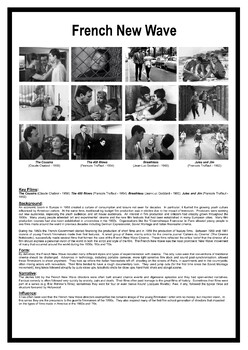 French New Wave POSTER (.pdf) - Media Studies