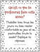 French New Year Vocabulary - Nouvel An - I'd rather cards