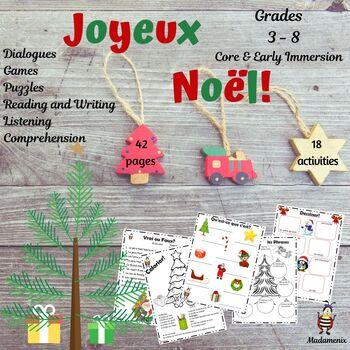 French Christmas Unit: C'est Noel!