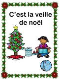 French Noel Christmas Guided Reading story. Ontario Core French