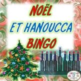 French: Noël et Hanoucca Bingo