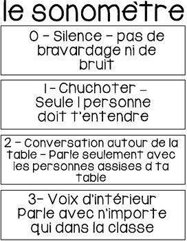French Noise Meter