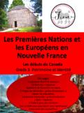 """French: """"Nouvelle France: Les Européens & Les Premières Na"""