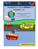 French Number 1-10|Nombre 1-10