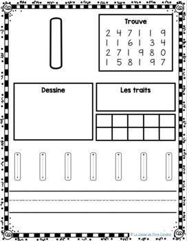 french number activity sheets 1 20 harder version tpt. Black Bedroom Furniture Sets. Home Design Ideas