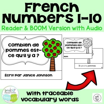 French Number/Counting Readers {Combien de pommes est-ce qu'il y a ?}