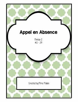 French Number Game - Appel en Absence! (#0 - 29)