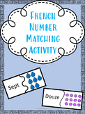 French Number Match - Les numeros/chiffres/nombres Core Fr