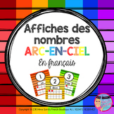 French Number Posters - Affiches des nombres