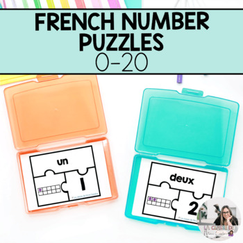 French Number Puzzles 0-20