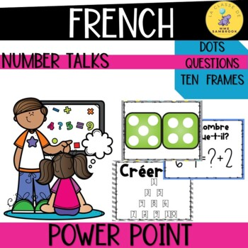 French Number Talks Slide Show