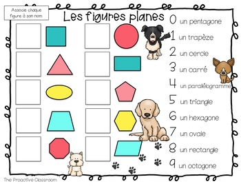 French Number Tiles First Grade Math Bundle for the Year
