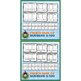 French Numbers 0 to 100 • 5 Reading & Writing Booklets • Circus Theme