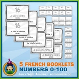 French Numbers 0 to 100 • 5 Reading & Writing Booklets • C