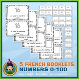 French Numbers 0 to 100 • 5 Reading & Writing Booklets • J