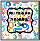 French Numbers 1 - 10