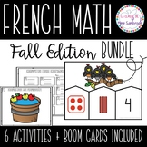 French Numbers 1-10 Activities BUNDLE I fall edition