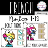 French Numbers 1-10 Boom Cards