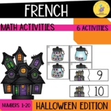 French Numbers 1-10 Math activities I Halloween edition