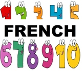 French Numbers / Les Nombres 1- 10 (PPTP & Interactive Game)