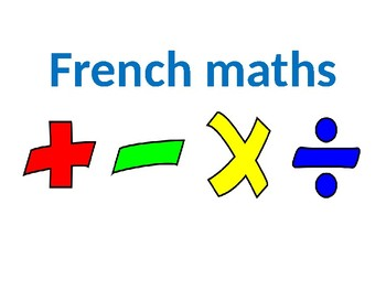 French Numbers 1-100
