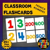 French Numbers 1-100 Flashcards, 1-1,000,000 Les nombres Flashcards