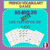 French Numbers 1-100 Vocabulary Game