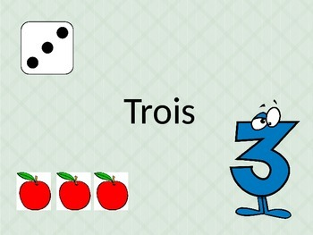 French Numbers 1-31 powerpoint with games