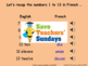 French Numbers 13-31 Lesson plan, PowerPoint (with audio), Flashcards & Games