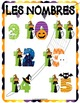 Halloween Activity French Numbers  Lesson and Games Poster for Circle Time