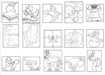 French Numbers Beginner Dot-to-Dots Book