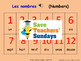 French Numbers, Birthdays & Name Days Unit (6 lessons) - A