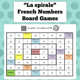 French Numbers Board Game