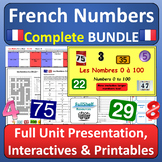 French Numbers COMPLETE BUNDLE