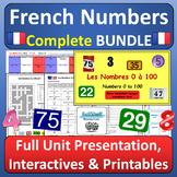 French Numbers Les Nombres Full Unit BUNDLE