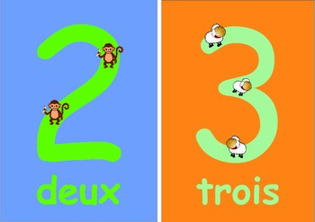 French  Numbers   Flashcards (0 to 10) for Younger Children .
