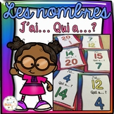 """French Numbers Game - Nombres 0-20 - jeu """"j'ai... qui a...?"""""""