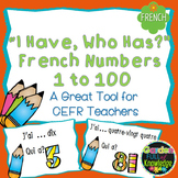 """French Numbers - """"I Have, Who Has?"""" Game -  Numbers 1 - 10"""