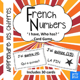 French, Numbers: I have Who has Cards