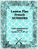 French Numbers Lesson Plan