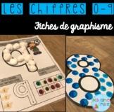 French Numbers Mats/ Activités de manipulation {Chiffres}