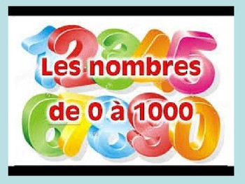 French Numbers PowerPoint