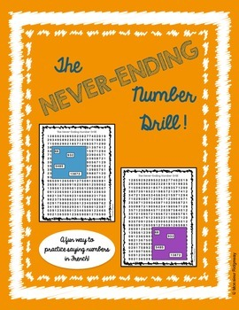 French/Spanish Numbers - The Never-Ending Number Drill!