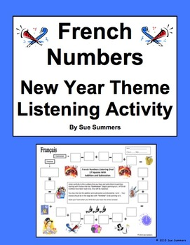 French New Year Numbers and Math Listening