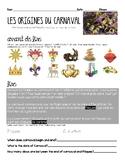 French CARNAVAL MARDI GRAS novice high/int. low interpreti
