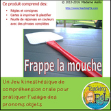 French Object Pronouns Flyswatter Game