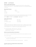 French Object Pronouns- detailed notes & formulas for use