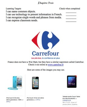"French One: Novice Low, The Course Pack ""L'Introduction, Chapitres 1-5"""