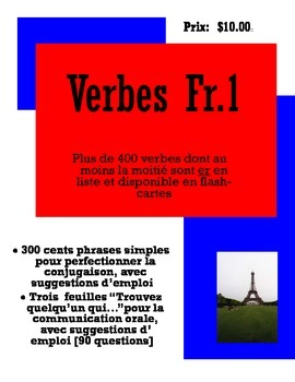 French One Verbs