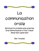 French Oral Communication Activities and Rewards/ La communication orale